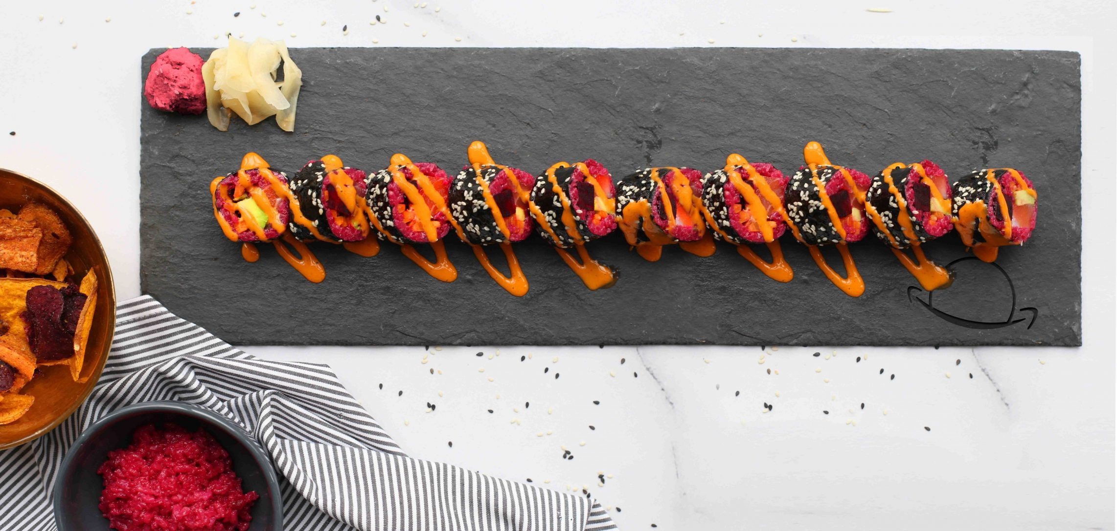 sushi design kreation essen innovation